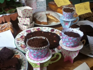 cakes at lpf stall