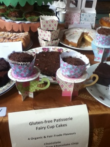 cakes at stall