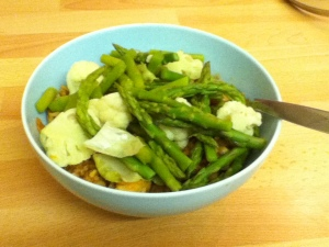 Cauli & Asparagus Bowl of plenty